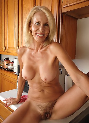 Milf nude kitchen opinion